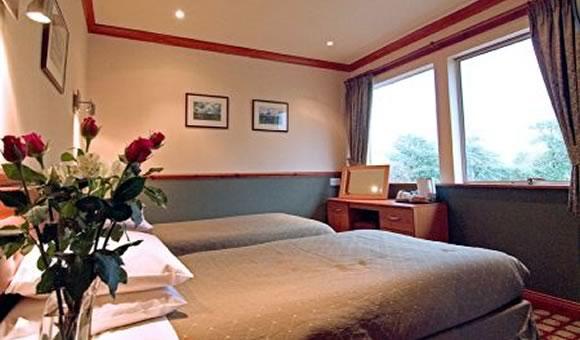 Bedroom at Clachaig Inn - the Bidean Wing.