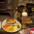 Food and drink at Clachaig