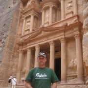 Now this is more the sort of thing we had in mind. Iain Alexander took his Clachaig t-shirt to Petra, Jordan and thinks he