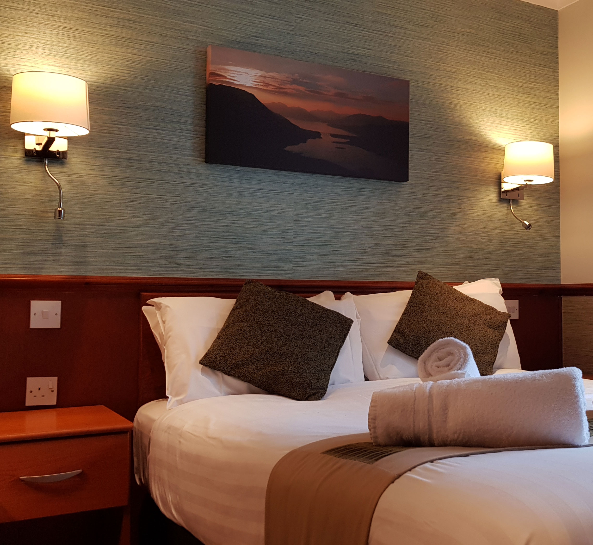 Bedroom in Glencoe