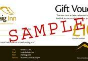 Gift Voucher Clachaig Inn